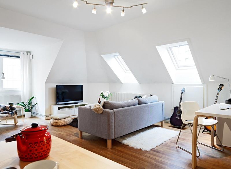 斜顶小客厅