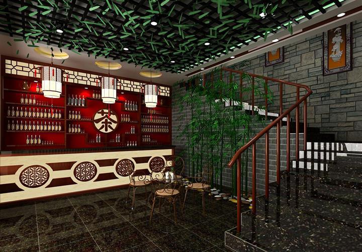 中式吧台设计