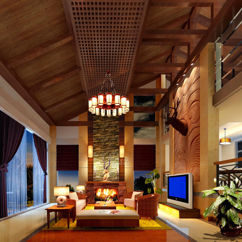 东南亚别墅风格