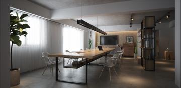融侨观邸办公室设计方案