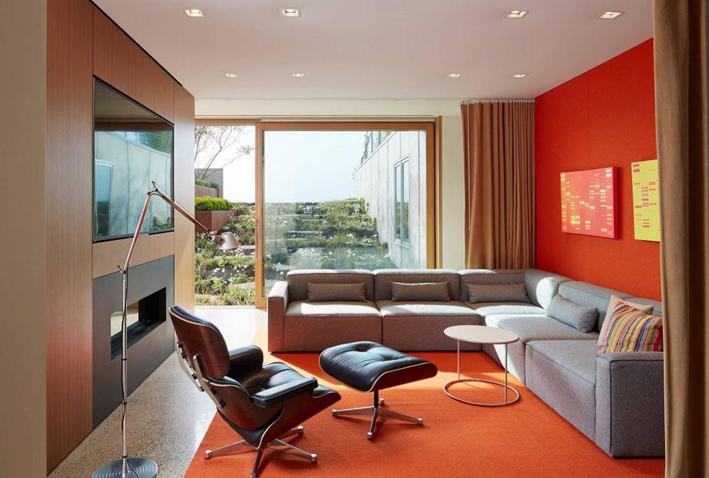 精心设计的六个现代风格客厅装修,个个都是艺术品
