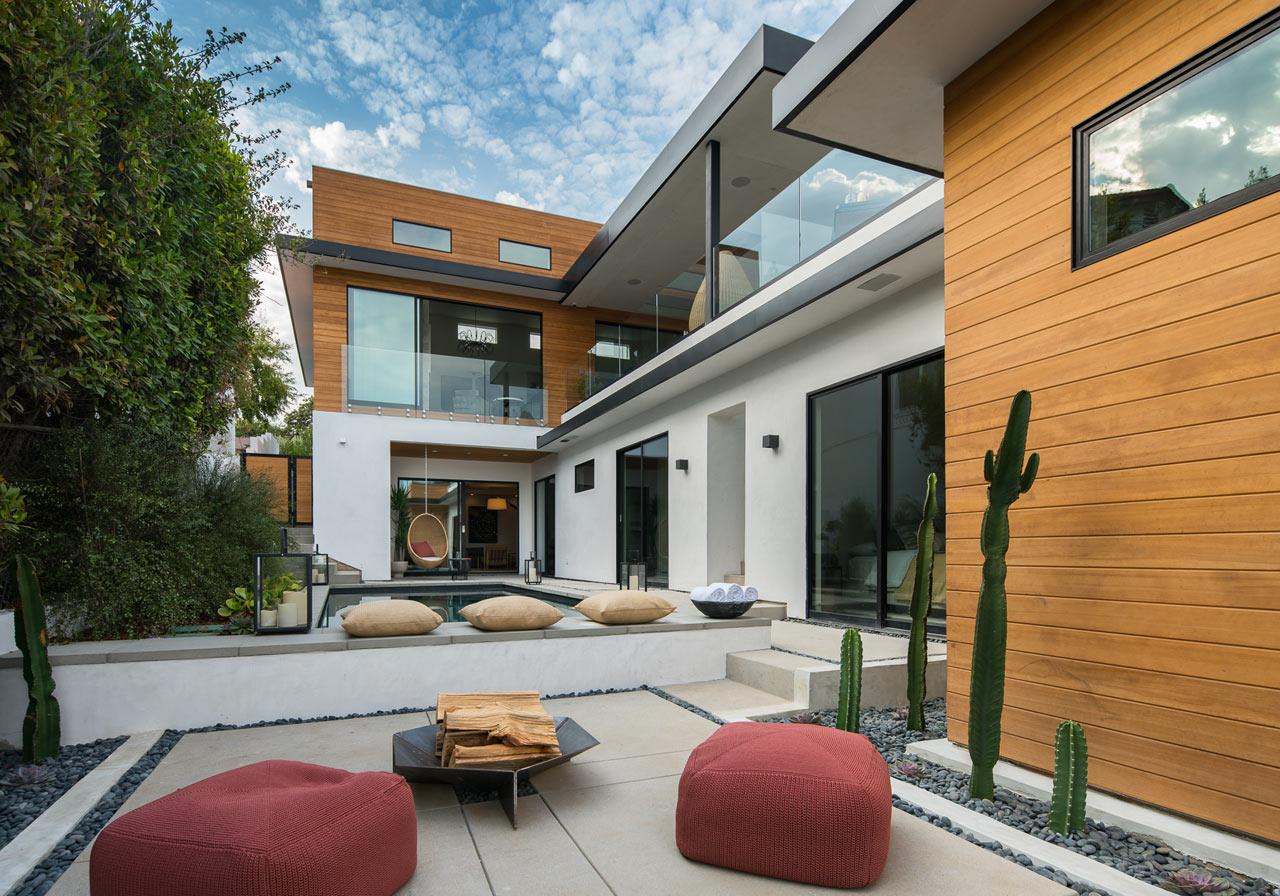 現代風格別墅——1個將室內外空間完美連接在一起的簡約設計