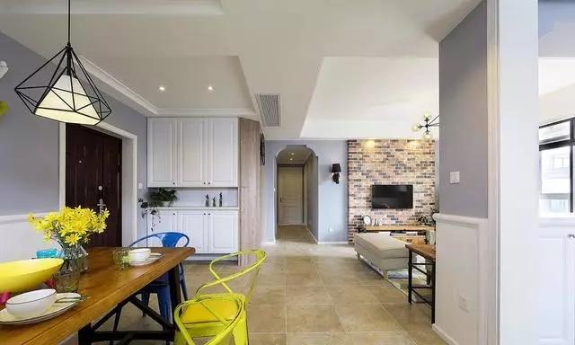 欢迎大家来参观我家120㎡美式装修风格的新家,是不是很赞?