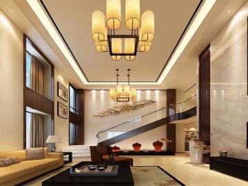 新中式风格别墅装修设计案例