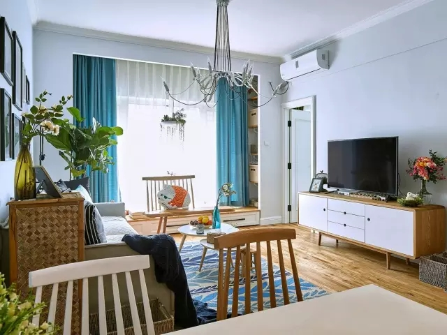 第一次裝修新房,90㎡北歐風只花了8萬大家都說贊~
