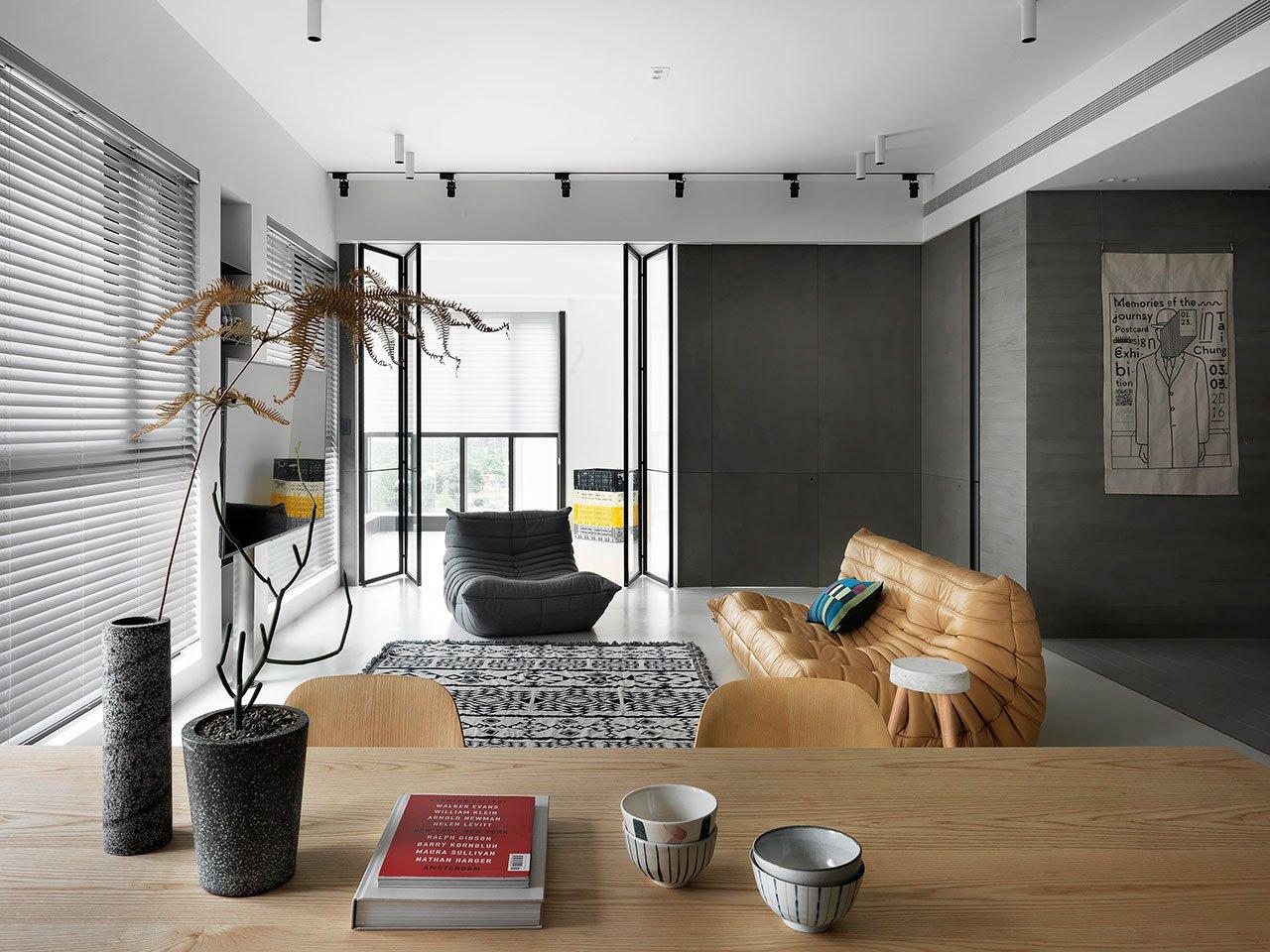 低调优雅的现代简约风装修,带您体验独特的高审美设计