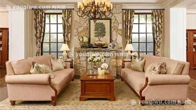 金都夏宫现代风格客厅沙发装修效果图