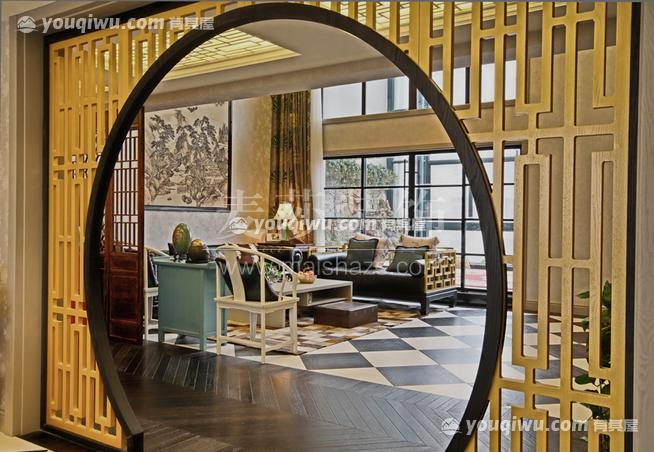昆明海伦国际中式风格装修案例展示