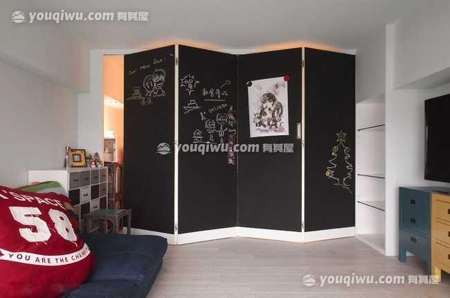 华清创业园现代风格室内装修效果图