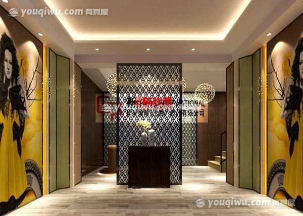 上海新概念东北菜餐厅装修效果图