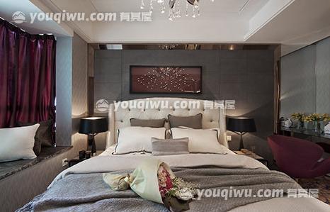 中航城简欧风格98平方米装修设计案例