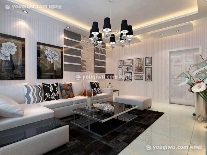 大兴九臻唐先生80平米现代风格装修设计方案