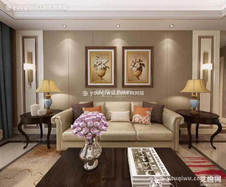 雍城世家新中式风格装修案例