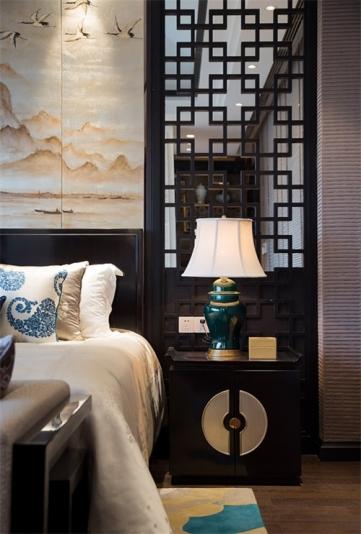 雅居乐长乐渡中式风格设计装饰
