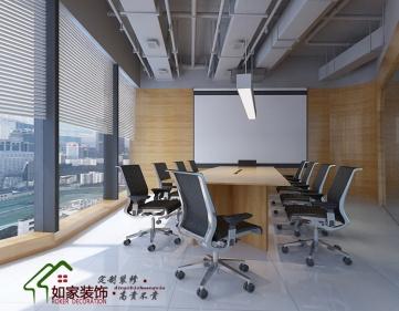 光子科技公司loft风格工装案例