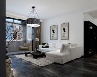 15万打造现代风格三居室