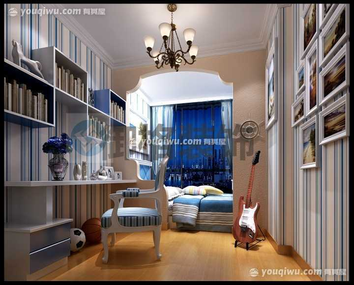 康桥长郡135平方米三居室现代风格装修