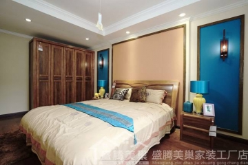 新中式家居装修呈现 ...