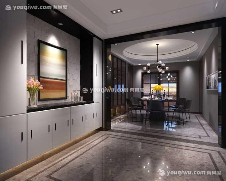 新中国际现代风格装修设计案例