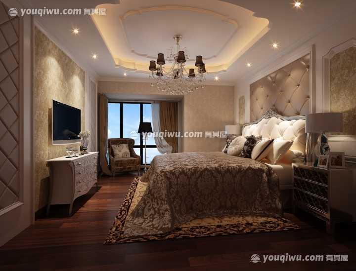 盛世豪庭欧式风格装修设计案例