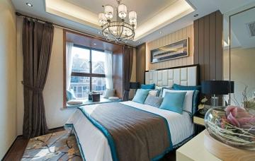 中式家装风格174平米 ...