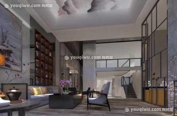 义乌绿谷云溪联排新中式风格室内装饰