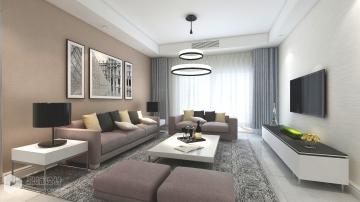 现代风格三居室