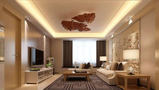 三居室装修效果图