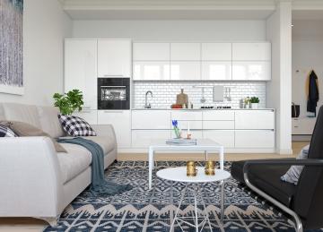 无锡华夏豪门现代风格70平米设计方案 君合装饰