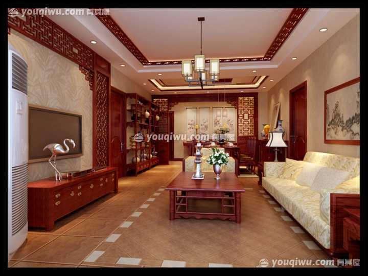 玉林滨江公馆-中式风格|玉林星艺装饰