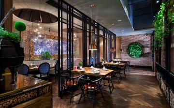 长兴八佰伴紫荆雅客餐厅设计