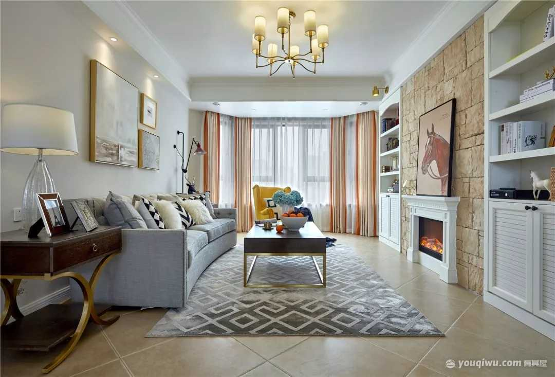 现代简约型实用居家装修设计效果图