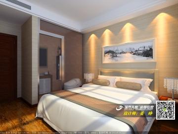 高新区宁海宾馆工装设计装修效果图