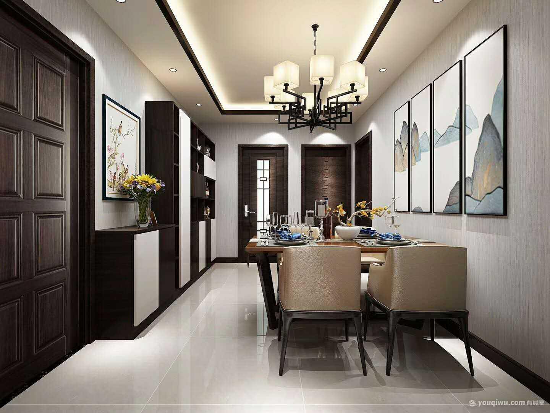 马家堡西里三居室美式风格装修效果图