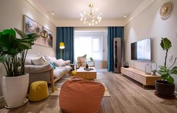 79平方米二居室温馨 ...