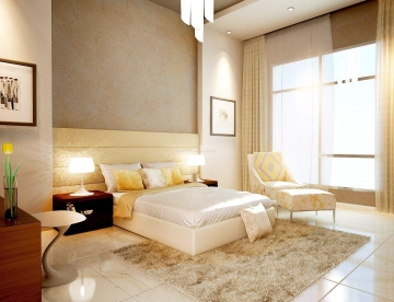96平米好户型简约卧室装修效果图