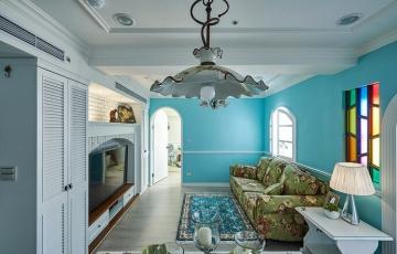150平米地中海风格复式房装修效果图
