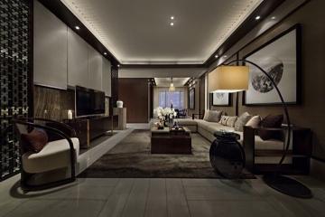 134平方米中式风格装 ...