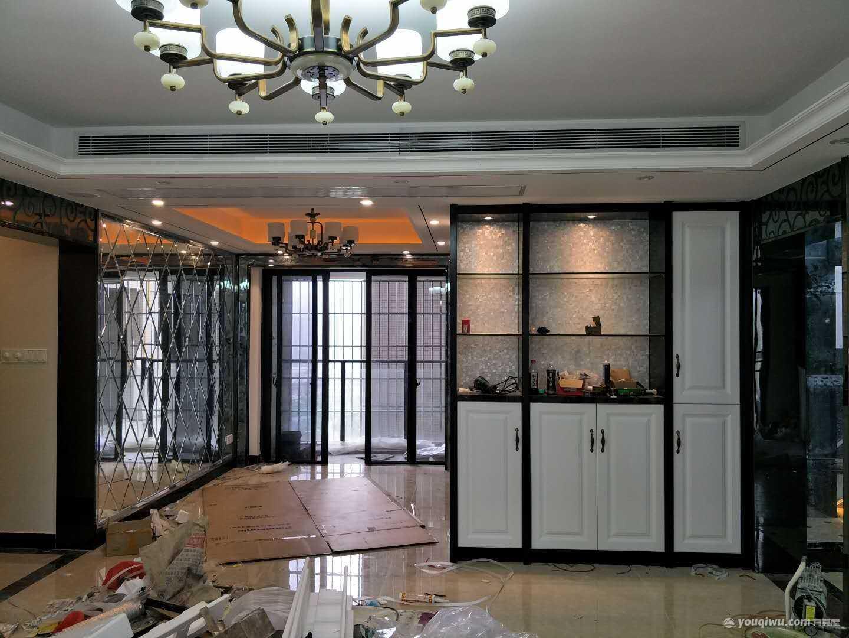 万科豪华142平米4居室中式竣工实景图