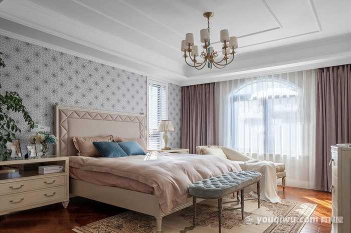 别致精美卧室欧式风格装修效果图—洛阳捌零玖零装饰