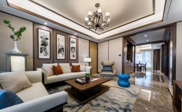 125平米三居室新中式 ...