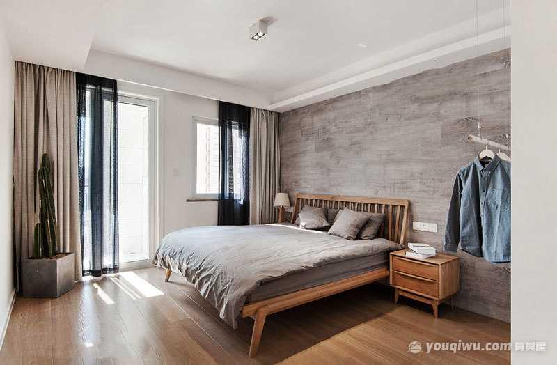宜家日式风格卧室设计装修效果图—新时代装饰