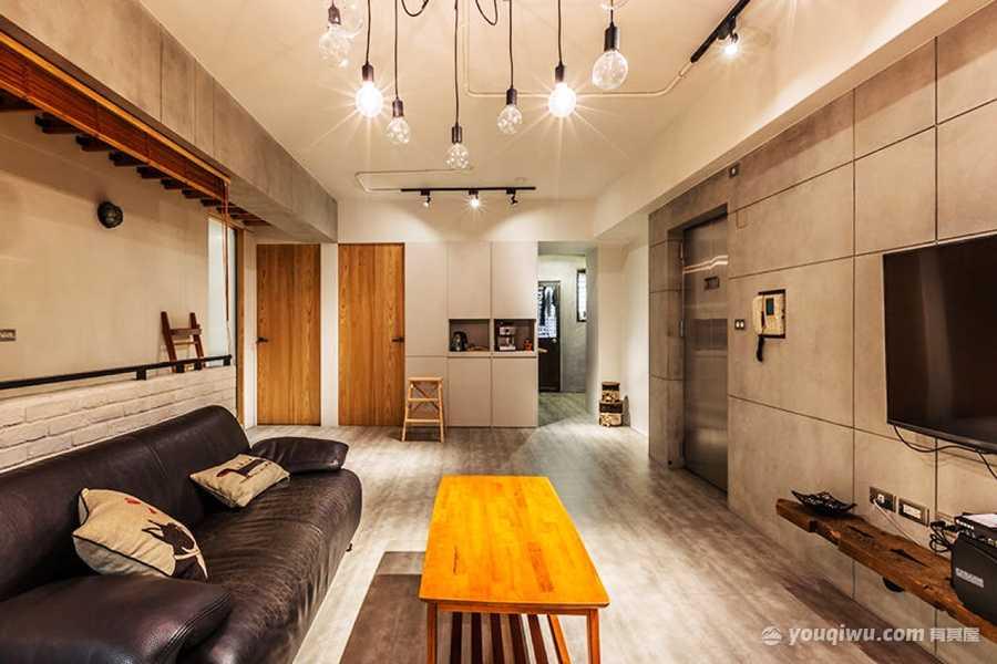 现代风格精致客厅装修效果图—爱文装饰