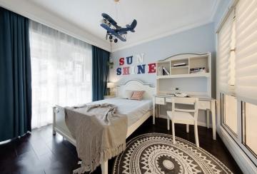 简单小清新儿童房北欧风格装修效果图—创意装饰
