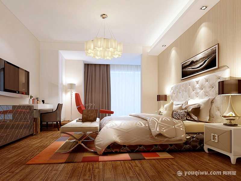 高端大气欧式风格卧室装修效果图—爱文装饰