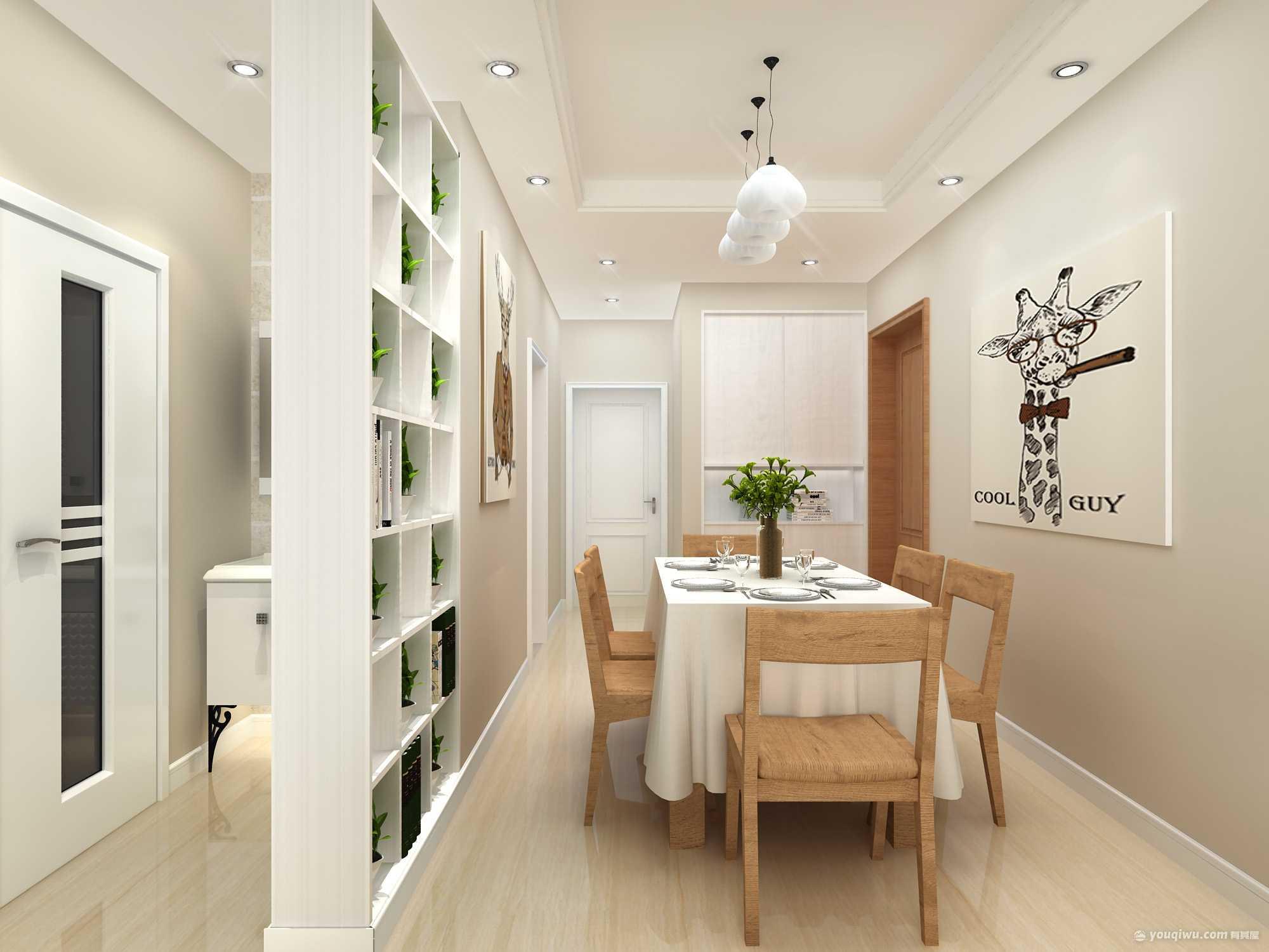 现代风格餐厅装修效果图—济南万泰装饰
