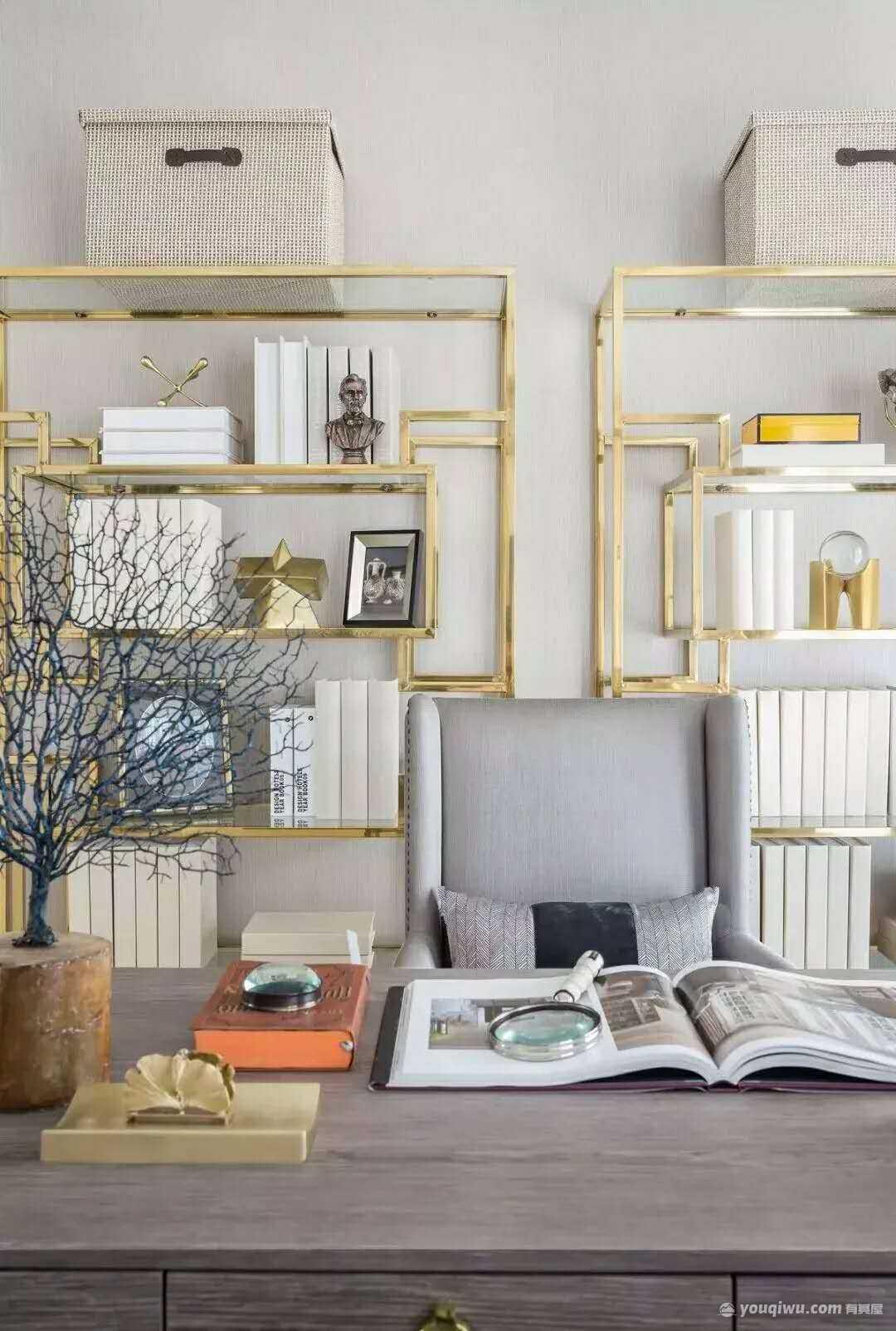 三室两厅新古典风格装修效果图—连云港金钥匙装饰设计工程有限公司
