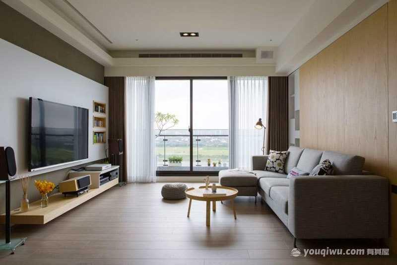 日式风格客厅装修效果图—方星装饰