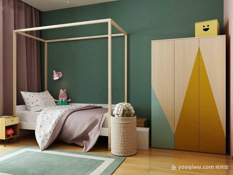 欧式风格儿童房装修效果图—潍坊e空间装饰设计
