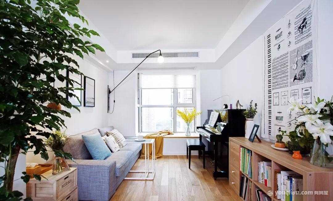 101平方米三室两厅北欧风格装修效果图—连云港东恒·艺家装饰